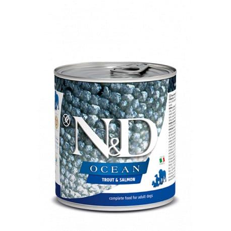 N&D DOG OCEAN Adult Trout & Salmon 285g