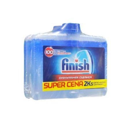 Čistič pro myčky FINISH 2x250ml