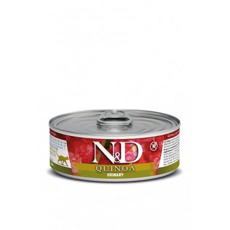 N&D CAT QUINOA Urinary Duck & Cranberry 80g
