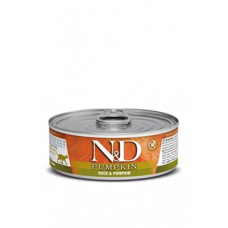 N&D CAT PUMPKIN Adult Duck & Pumpkin 80