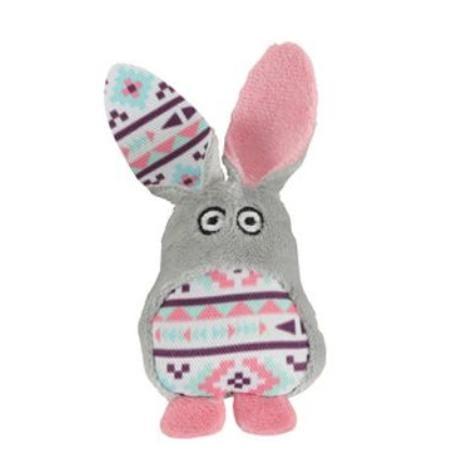Hračka kočka KALI králík šedá Zolux