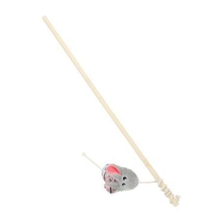 Hračka kočka udice KALI myš šedá Zolux