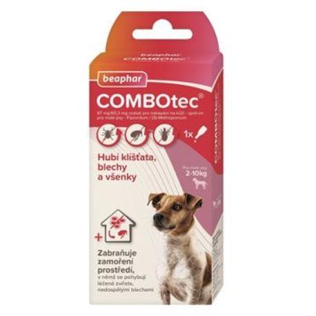 Combotec 67/60,3 Spot-on pro malé psy 1x0,67ml