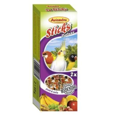 Avicentra tyčinky malý papoušek - ovoce+ořech 2ks