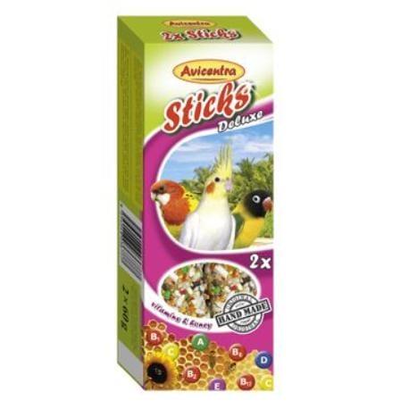 Avicentra tyčinky malý papagáj - vitam.+med 2ks