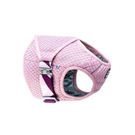 Vesta chladící Hurtta Cooling Wrap 40-50 růžová