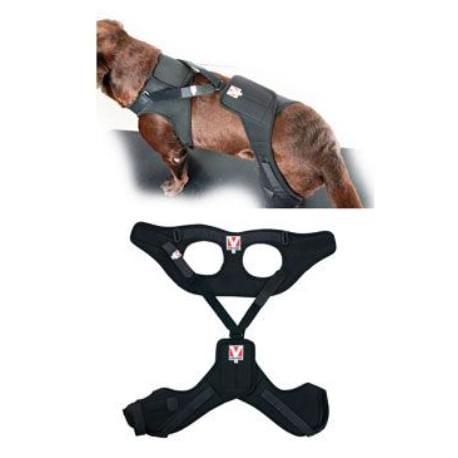 Bandáž Rehab Pro na koleno pro psa KRUUSE XS levá