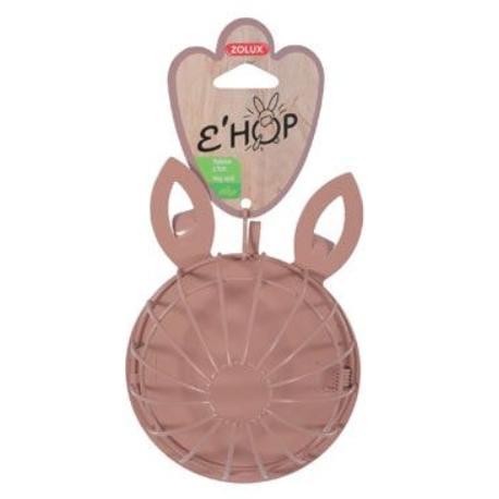 Krmítko jesličky EHOP hlodavec kov králík růžové Zolux