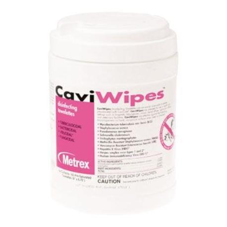 CaviWipes dezinfekční ubrousky - dóza (160 ks)