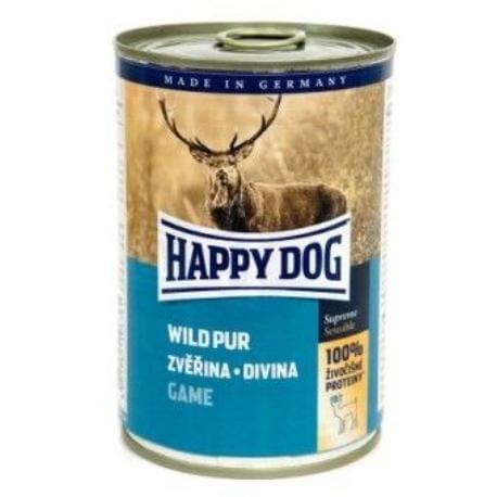 Happy Dog konzerva Wild Pur Zvěřinová 400g