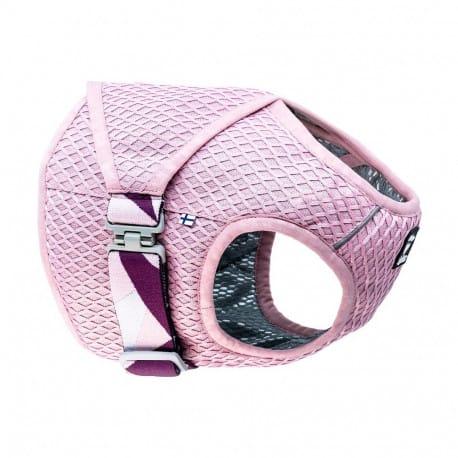 Vesta chladící Hurtta Cooling Wrap 75-85 růžová