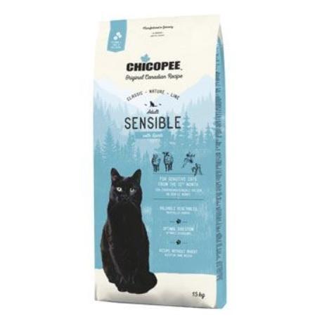Chicopee Cat Adult Sensible Lamb 15kg