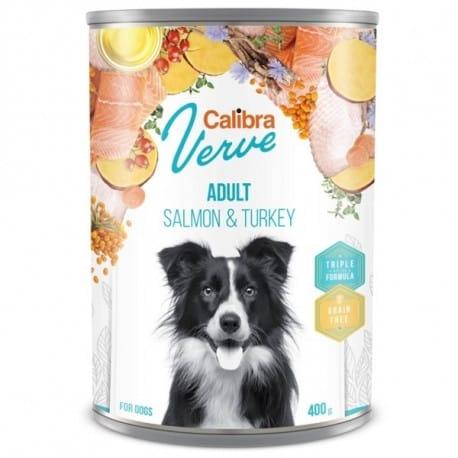 Calibra Dog Verve konz.GF Adult Salmon&Turkey 400g