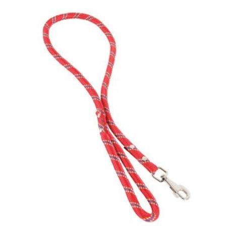 Vodítko pes nylonové 13mm 1,2m červené Zolux