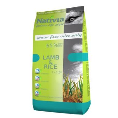 Nativia Dog Adult Lamb&Rice 3kg