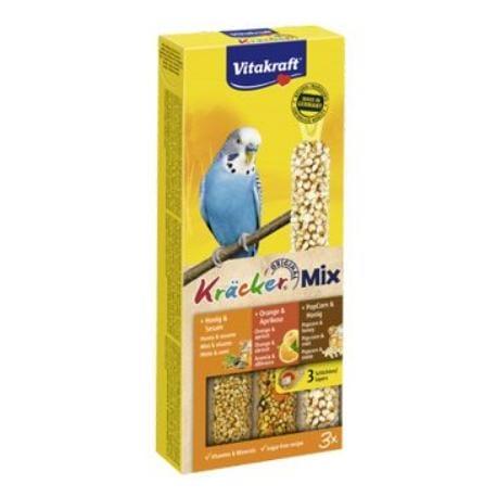 Vitakraft Bird Kräcker med/pom/popfit bud.tyč 3ks