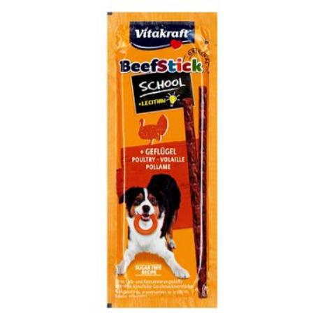 Vitakraft Dog pochoutka Beef Stick salami Geflug. 10ks