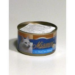 Miamor Cat Filet konzerva tuňák+krevety v želé 100g