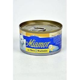 Miamor Cat Filet konzerva tuňák+křepelčí vejce100g