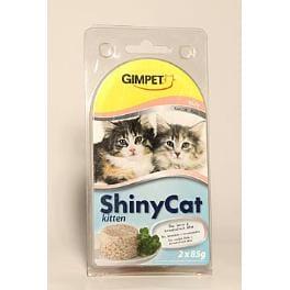Gimpet kočka konz. ShinyCat Junior kuře 2x85g