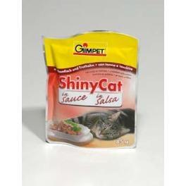 Gimpet kočka konz. ShinyCat Junior tuňák 2x85g
