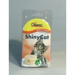 Gimpet kočka konz. ShinyCat kuře/krab 2x85g