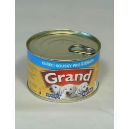 GRAND konz. šteňa Extra kur.kúsky 405g