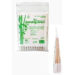 Tyčinky vatové BambooStick pro čištění uší psů 50ks