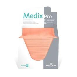Podložka MedixPro skládaná v boxu 33x48cm, 80ks meruň.