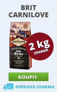Carnilove Lamb & Wild Boar 12 + 2 kg ZDARMA