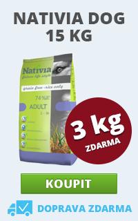 Nativia 15 + 3 kg
