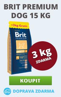 Brit Premium 15 + 3 kg zdarma