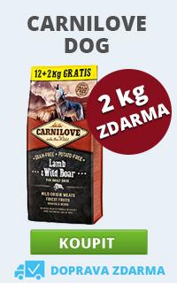 Carnilove 12 + 2 kg ZDARMA