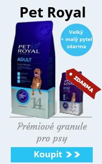 Pet Royal velké + malé balení zdarma