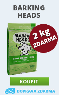 Barking Heads + 2 kg ZDARMA
