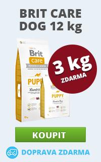 Brit Care Dog 12+3 kg zdarma