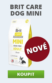 Brit Care Dog Mini novinka