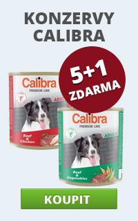 Calibra Premium konzervy