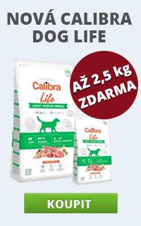 Calibra Dog Life + malé balení