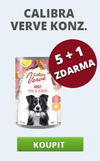 Calibra Dog Verve konzervy