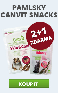 Canvit Snacks 2 + 1 zdarma