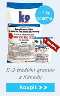 K9 12 + 2 / 20 + 3 kg zdarma