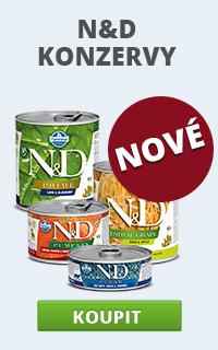 N&D konzervy novinka