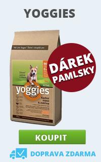 Yoggies + pamlsky